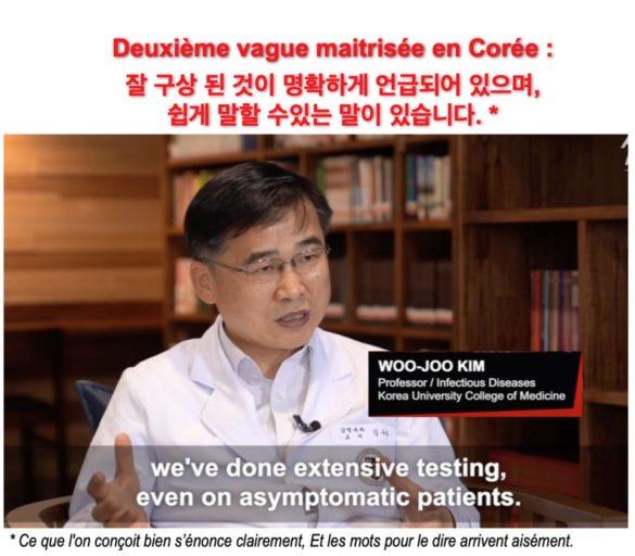 Deuxième vague maîtrisée en Corée