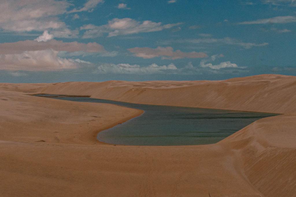 Mer Roudaire - Chott in Algerien