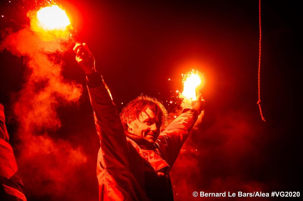 Yannick Bestaven Vendée Globe 2020 victory